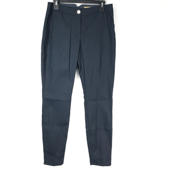 Ted Baker Pants - Ted Baker Navy Aayat Tailored Trousers
